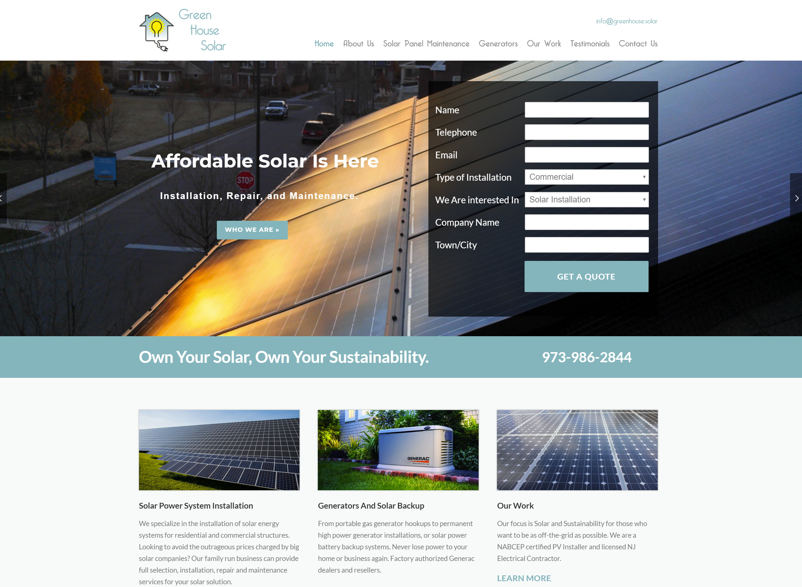 Green House Solar Win Marketing Groupwin Group Generator To Hookup Energy Electricity